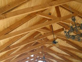 Patio Cover beams