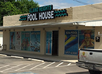 San Antonio Pool Supply Store The Pool House Alamo Heights
